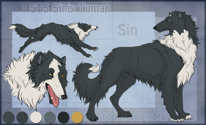 STS Dog - Sin by ShockTherapyStables