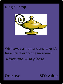 Magic Lamp Card by dthom83