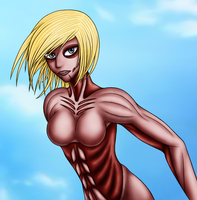The Female Titan by Kuro-Arashi-Ame