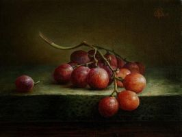 Claret Grapes by marcheba