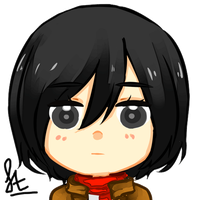 Icon Mikasa : Do Not Use by mistdesu23