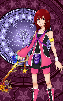 KH ReImagined Kairi Android Wallpaper by todsen19