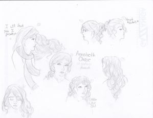 Annabeth Sketches