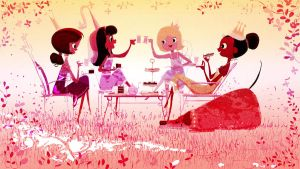 Tea, cakes and Princesses by PascalCampion