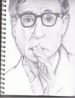 Woody Allen by Oranjes
