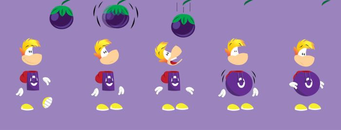 Rayman's Plum Mishap by gemstonelover49
