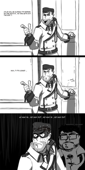 RWBY Doodle : Trapped ! by dishwasher1910