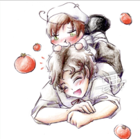 Tomato love by Erina-chan