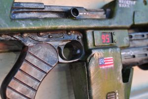 Pulse Rifle handle close up by drummerkidd12