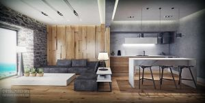 Bodrum living room by ozhan