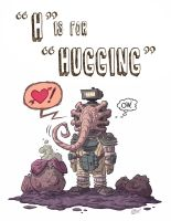 H Is For Hugging by OtisFrampton