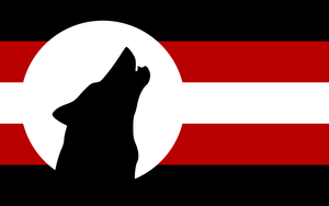 Flags of Touhou: Kagerou Imaizumi by GreatPaperWolf