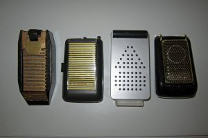 A Lineage of Flip-Top Communicators (Grids Closed) by galaxy1701d