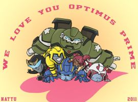 We love you, Optimus Prime by BDNatsuki