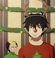 Rin's Christmas by NarutoLover6219