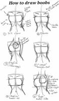 how to draw boobs by PockyQueen132