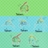 PKMNation - Natu/Surskit Clutch! ALL TAKEN by Crazy-Leen