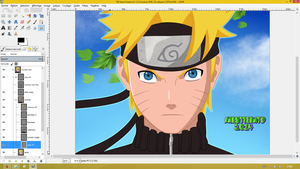 Wip Naruto eye evolution by Naruttebayo67