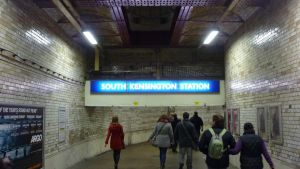 South Kensington Underpass by ggeudraco