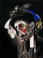 Mild Melancholia (Portrait of a Clown) by MrEverythings