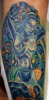 Final Fantasy Tattoo by seanspoison