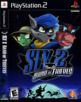 Unreleased Sly 2 Cover Art by RustyShack1eford