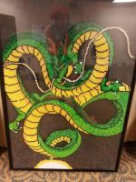 Rock the Dragon! - Shenron the God Dragon by rachelsdreamland