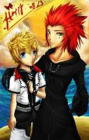 newyearGE: axel roxas by Dofi