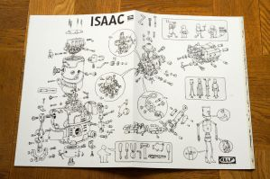 Larger than line ISAAC by MattiasA