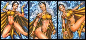 SAVAGE LAND STORM PERSONAL SKETCH CARDS by AHochrein2010