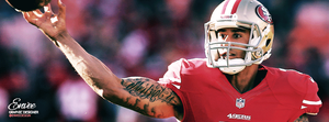 Colin Kaepernick - 49ers - Facebook Cover Photo by enveedesigns