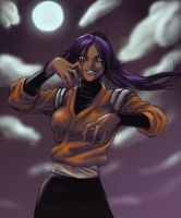 BLEACH: Yoruichi by Washu-M by Raenstrife