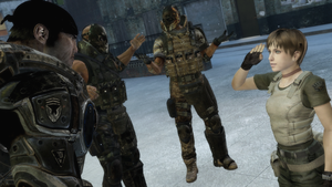 GMod Holiday 2012 - Gears, Army of Two and Rebecca by MrWhitefolks