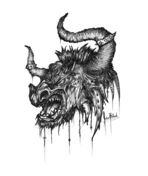 The Almighty Minotaur by ThirdEyedFried