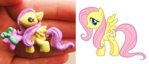 my little pony commission hair clip by mayumi-loves-sora