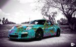 Design #19 26/01/2013 - Colorful Porsche by ddmboss