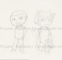 Chibi Examples by Jane2Audron
