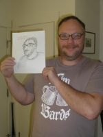 Scott C. Brown with the Quick Drawing by Poorartman