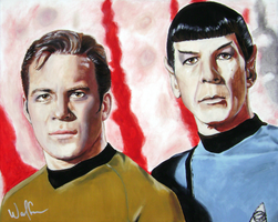 ST: TOS - Kirk + Spock by WolfenM