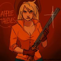 Applethieves by Schpog
