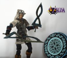 Legend of Zelda Majora's Mask Fierce Deity Link by SomethingGerman