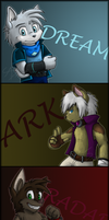 My Characters by AbsoluteDream