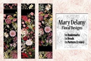 Floral bookmarks by auRoraBor