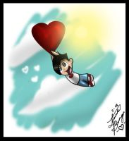 Flying on Love by DannyPhantomAddict