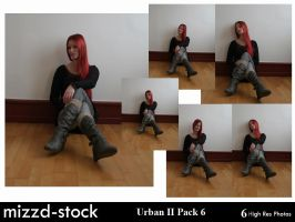 Urban Series II Pack 6 by mizzd-stock