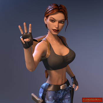 Classic Raider 72 by tombraider4ever