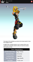 Fake SSBB Profiles 33 Sora by shadow0knight