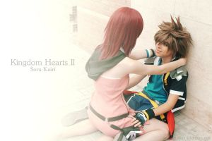 Sora, you lazy bum! by Kai-Cosplay