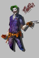 Joker New52 by flaiil