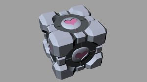 Primitives: Weighted Companion Cube by Laitz